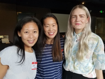 Dr Janet Chieh & friends at joint event of WAEPS & OPW young members June 2018